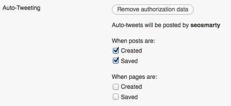 *Smartly* Auto-Tweet