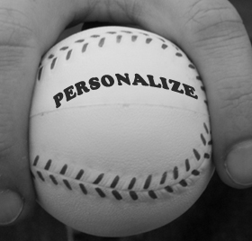Personalize your email pitch