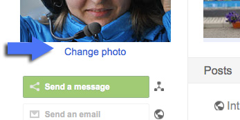 Change avatar - Google Plus