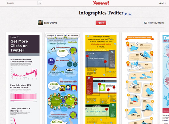15 Best Pinterest Boards for Social Media Infographics