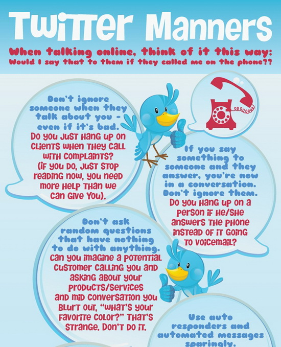 Twitter Manners