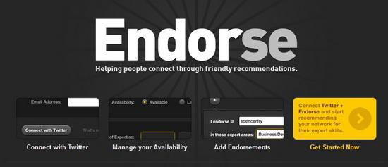 Endorse