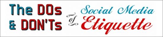 Social Media Etiquette Guide