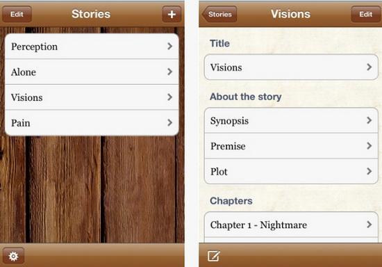 Writer's App