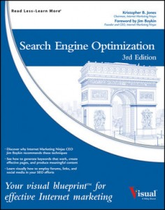 Kris Jones SEO Visual Blueprint - Wiley