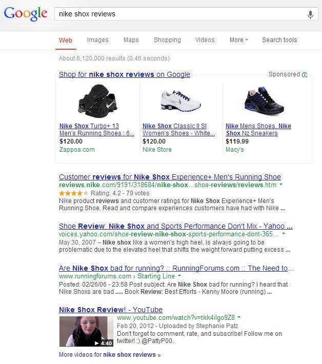 Nike Shox Reviews