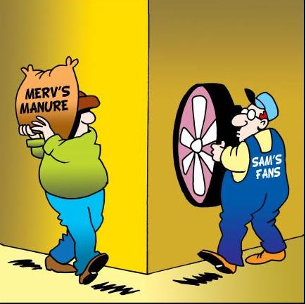 Manure Hits Fan