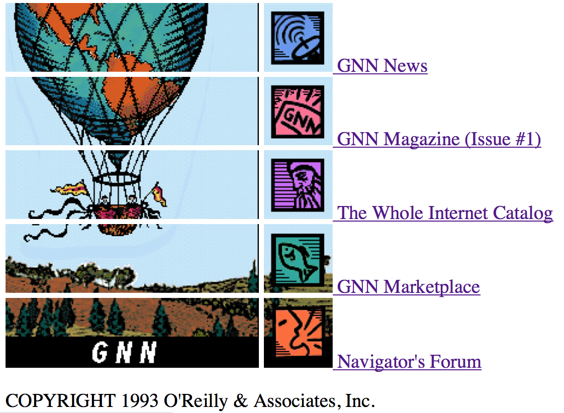 The Online Whole Internet Catalog