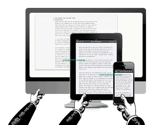 What is responsive typography?