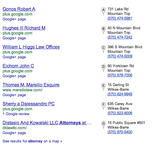 Local SEO / Blended Search