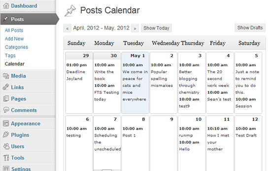 Editorial Calendar Design : How to create an effective editorial calendar for your