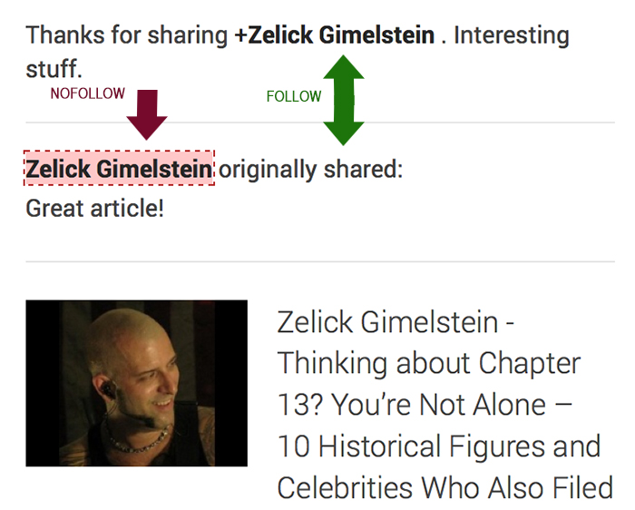 Google re-share link flow