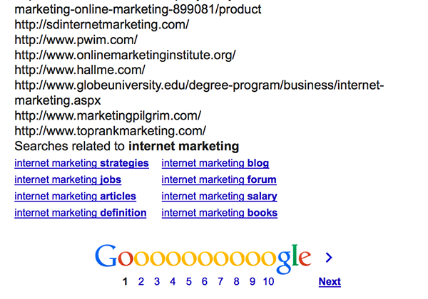 Get URLs from Search Results Plugin Tool