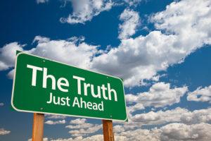 bigstock_The_Truth_Just_Ahead_Green_Ro_11944751