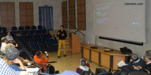 Presentation at Jerusalem's Machon Lev on mobile apps