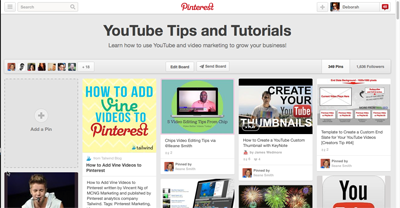YouTube Tips and Tutorials on Pinterest