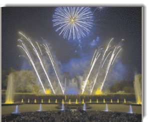 Colorblind fireworks