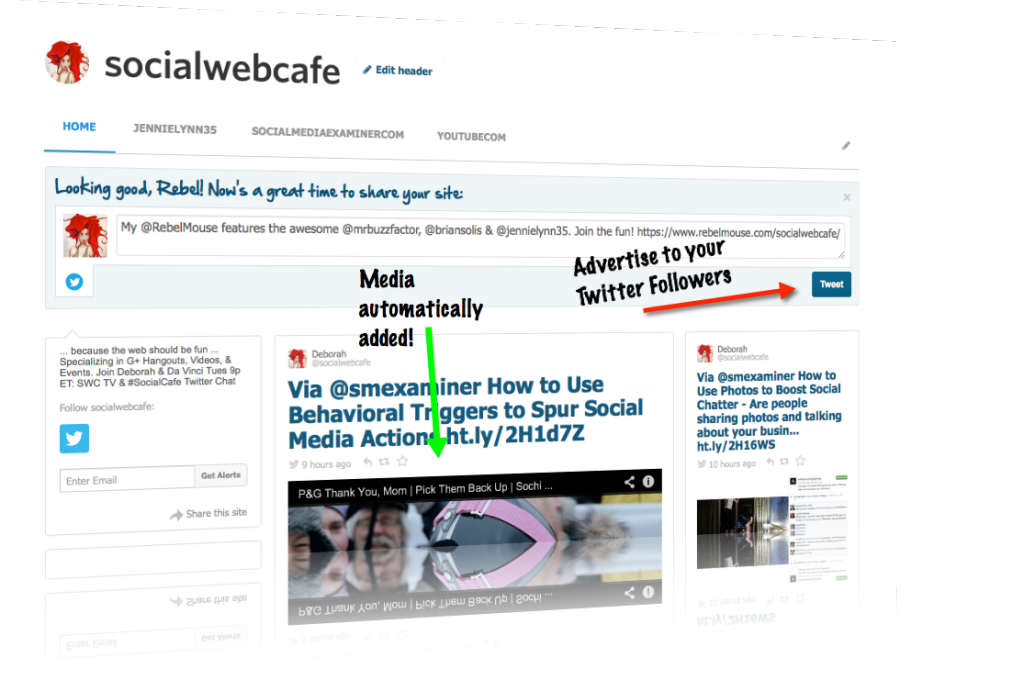 Using RebelMouse to Curate Fresh Content