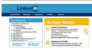 Old Linkedin Site