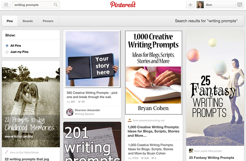 Search Pinterest