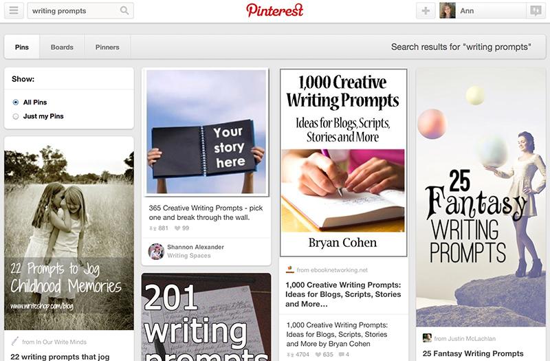 Search Pinterest