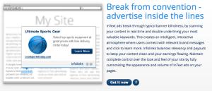 Contextual Advertising:  Infolinks