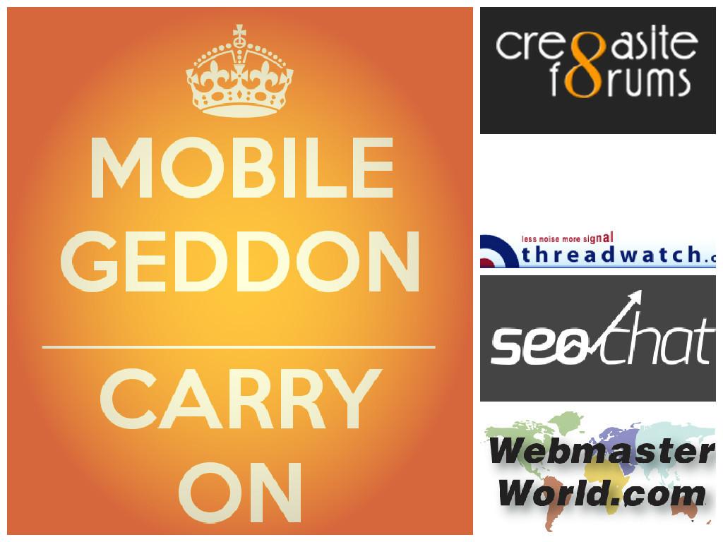 mobilegeddon-forum-roundup