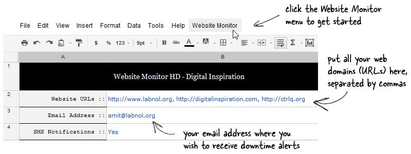 Google Docs monitoring tools