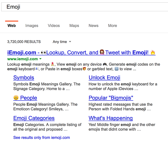 Emoji Icons Smileys In Search And Social Media