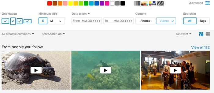 Flickr free videos
