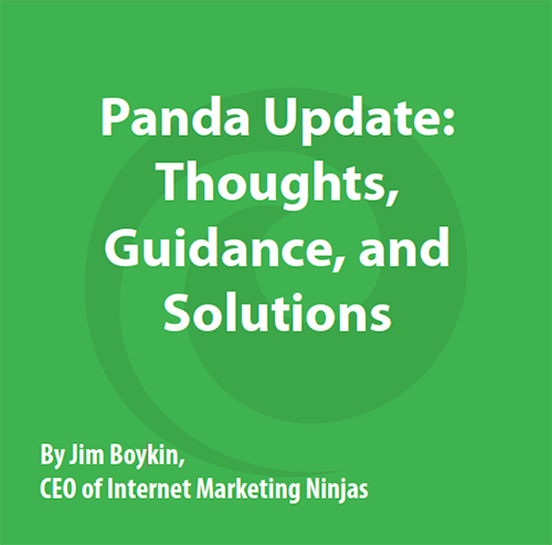 Free Google Panda Updates Whitepaper