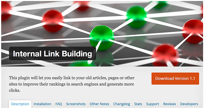 Internal Link Building WordPress Plugin