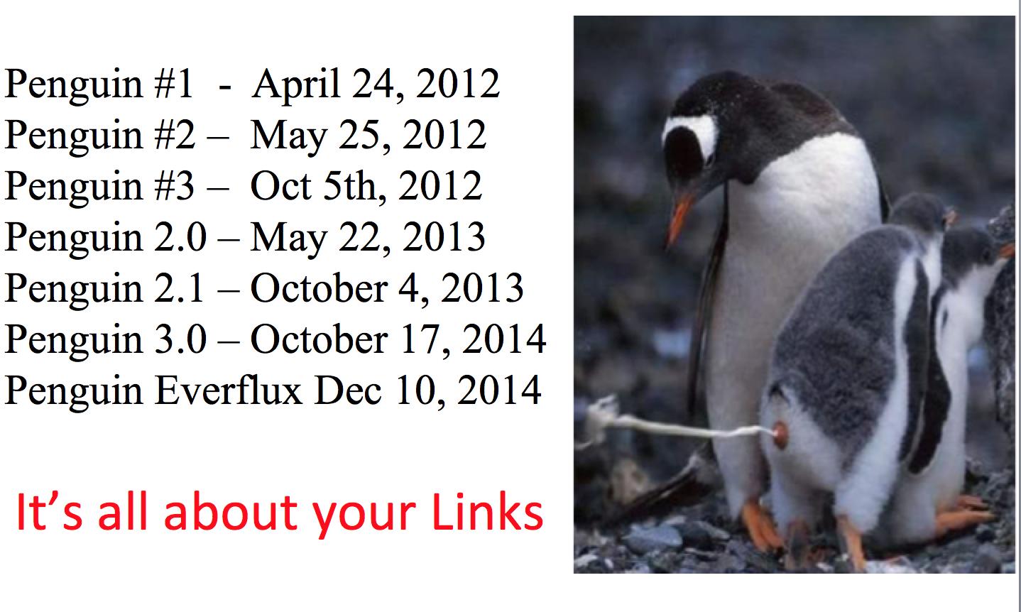 Penguin updates
