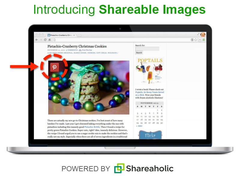 Shareaholic WordPress Plugin (Pinterest)