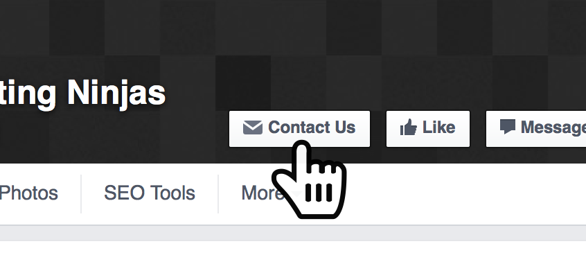 Facebook page calls-to-action
