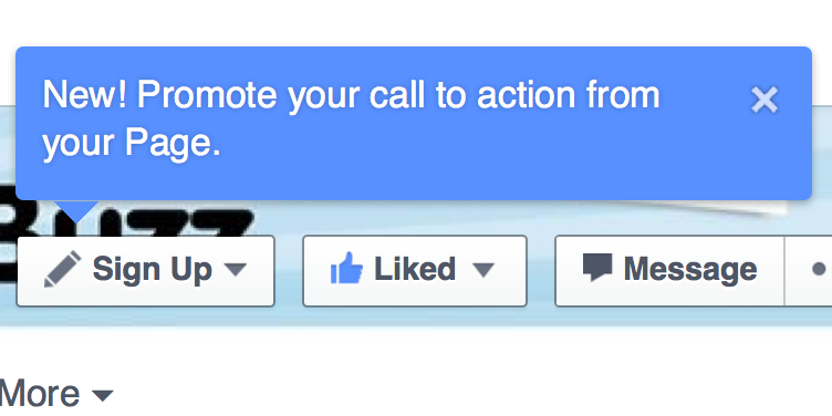 Promote call to action