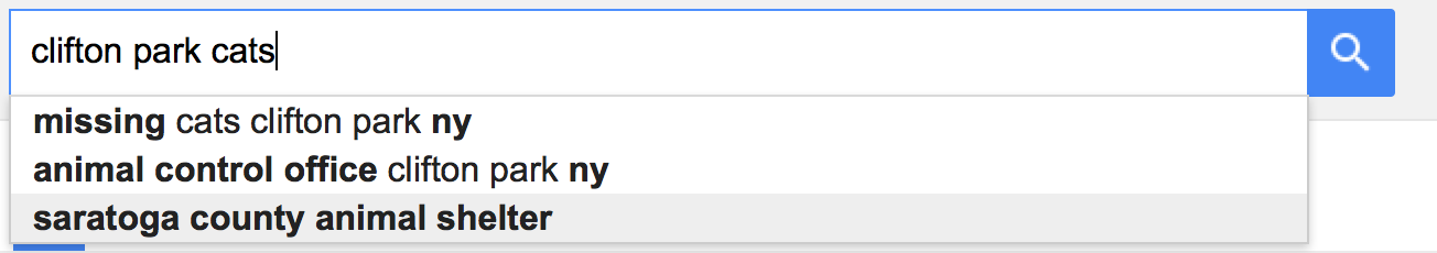 google suggest results