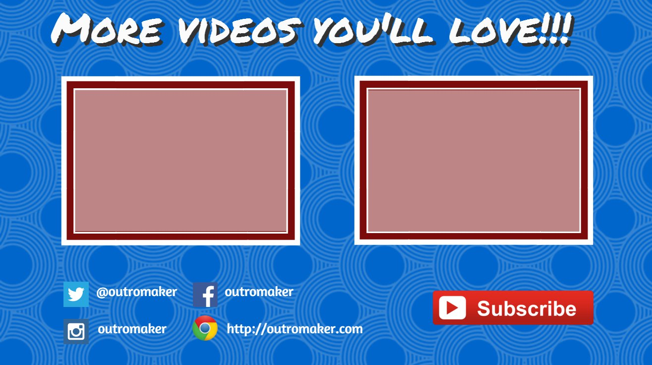 Create Youtube End Cards in Canva: