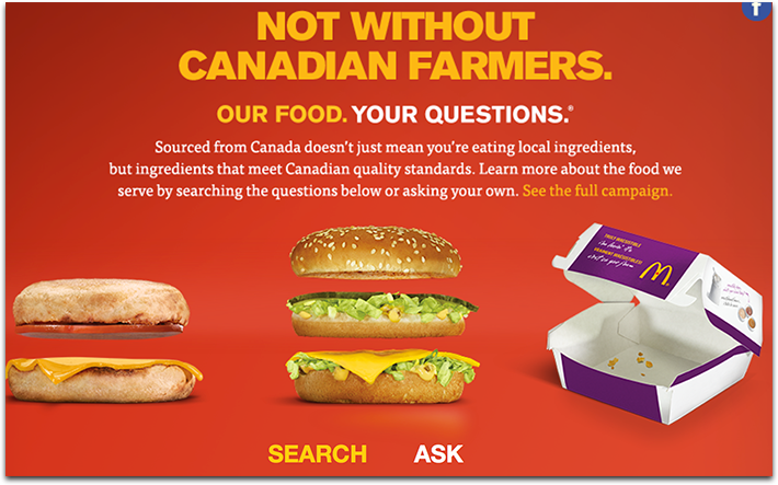 McDonalds Your Questions