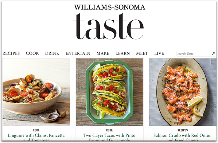 Williams-Sonoma Taste