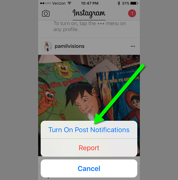 Get Notified Every Time Someone You Follow Posts