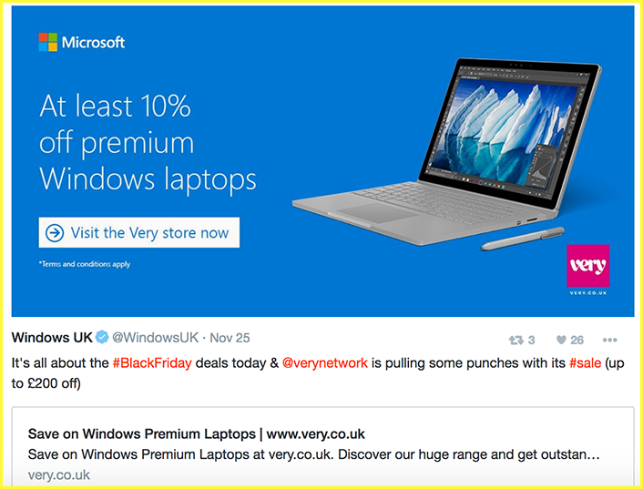 Twitter moments Microsoft