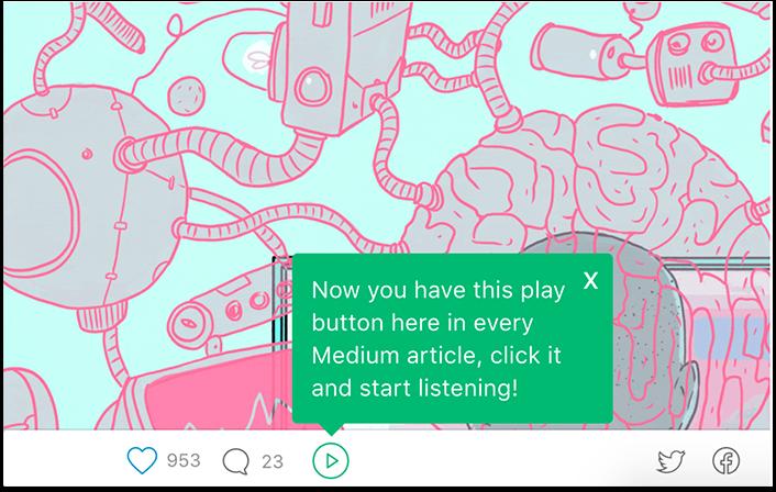 Play for Medium
