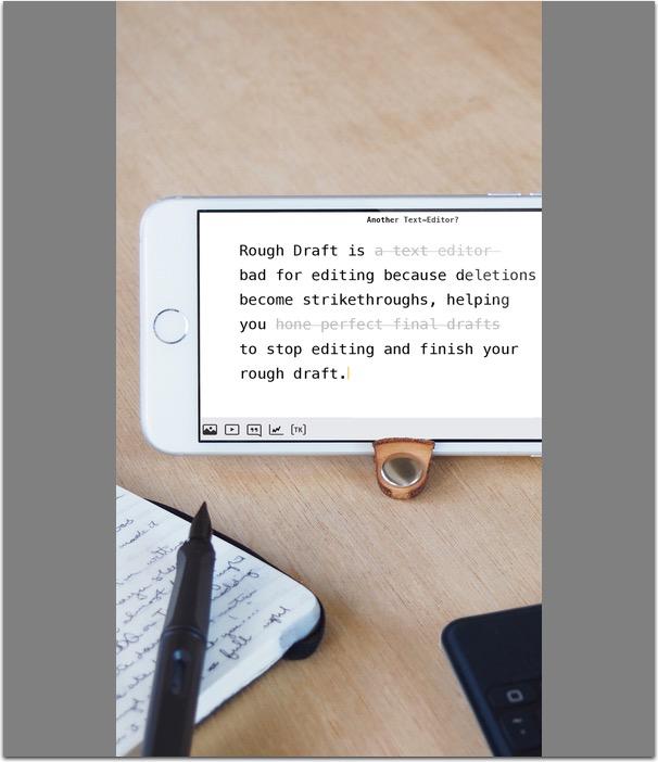 Rough Draft for iOS