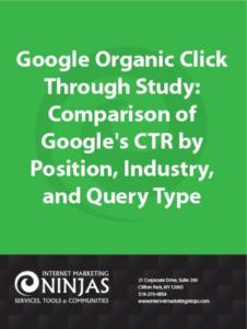 Google Click Through Study