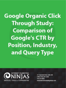 Google Click Through Study