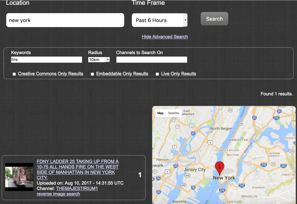 Geo Search Tool