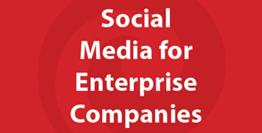 Social Media for Enterprise Companies