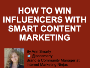 How to Use Influencer Marketing to Build Stronger Content for Your Blog #InfluencerDays