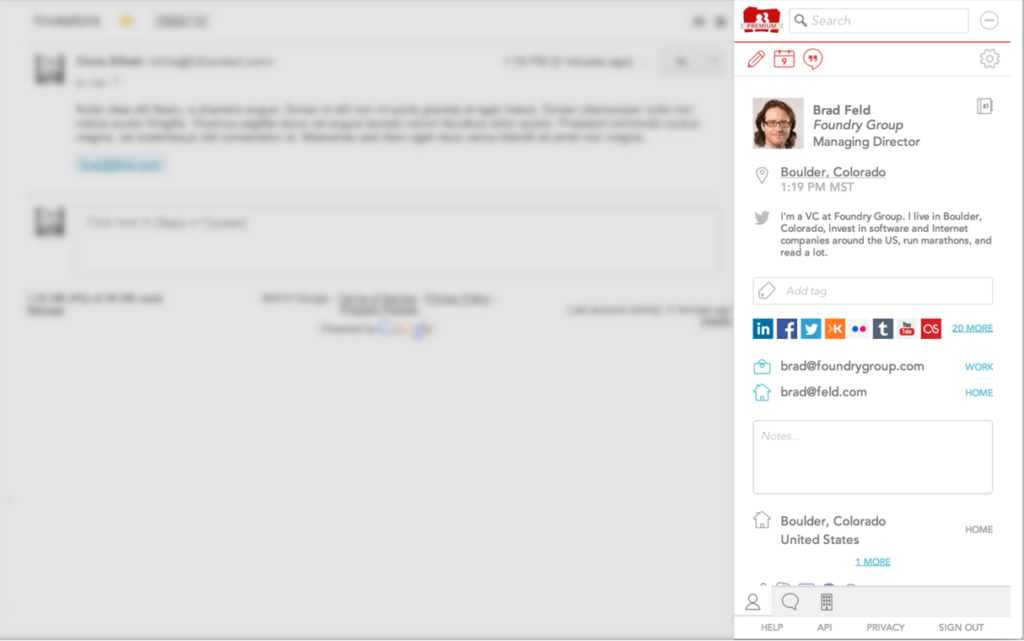 FullContact for Gmail
